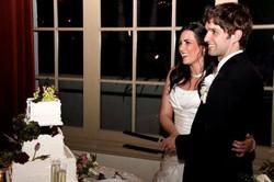 Wedding Day Cake Cutting
