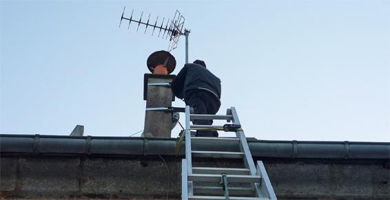 Travaux d'antenne TV RADIO GSM WiFi