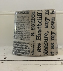 Wuthering Heights vase