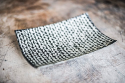 Knitted Plate