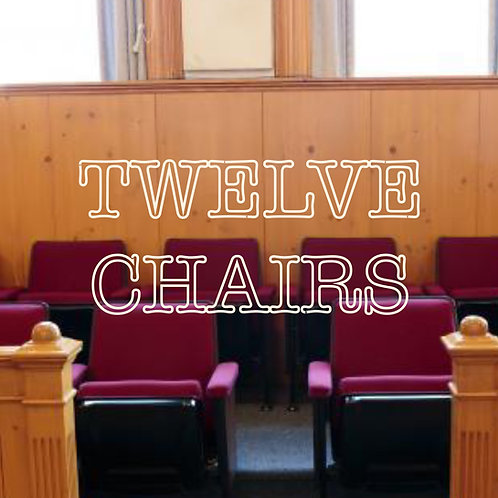 Twelve Chairs (medium voice and piano)