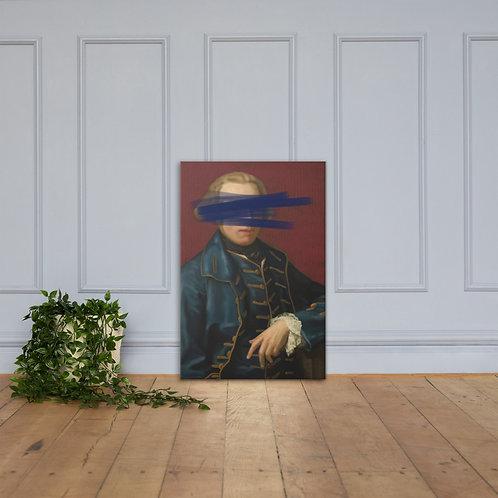 A Gentleman On Canvas