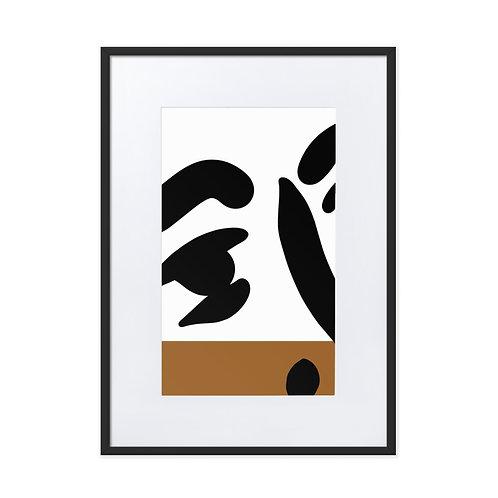 Modern Man Framed Print With Mat