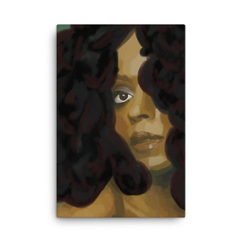 The Queen On Canvas