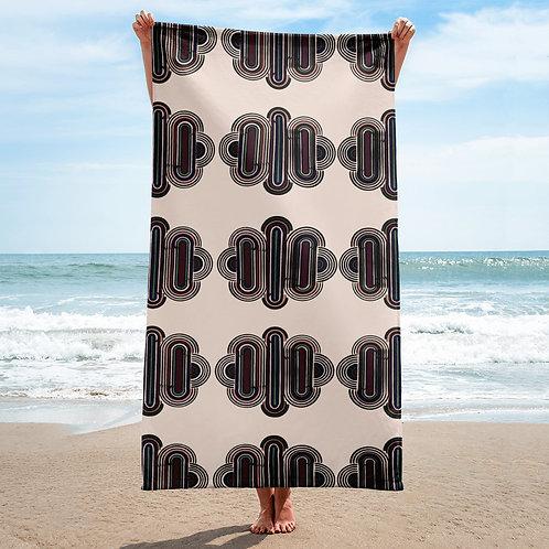 Modern Art Deco Towel