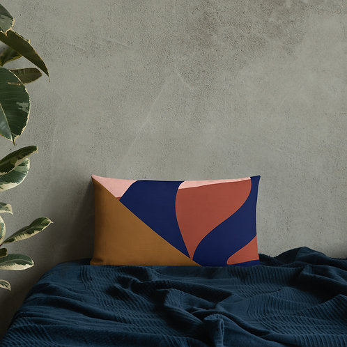 Mauve Abstractions 2-sided Premium Pillow