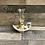 Thumbnail: Lampe à huile Iznik, de hauteur 20cm