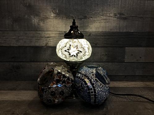 Lampe sur pied, de diamètre 13cm