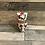 Thumbnail: Chouette Iznik, de hauteur 16cm