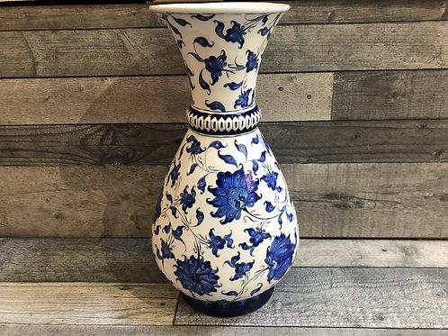 Vase à fleurs Iznik, de hauteur 39cm