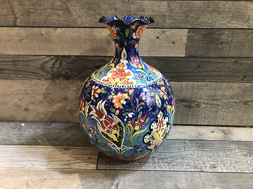 Vase à fleurs Tuana, de hauteur 32cm