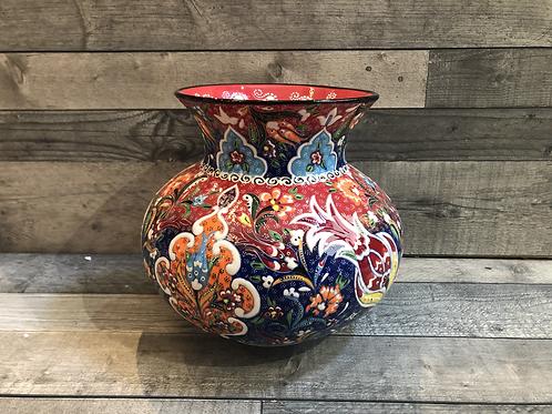 Vase à fleurs Tuana, de diamètre 33cm