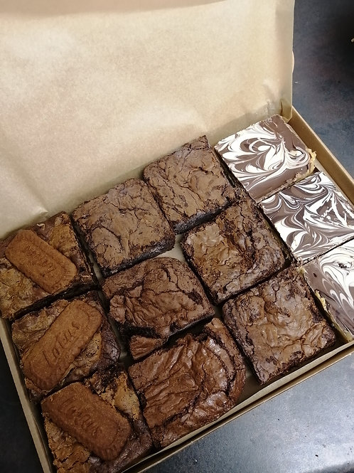 Vegan 12 Piece Brownie Box