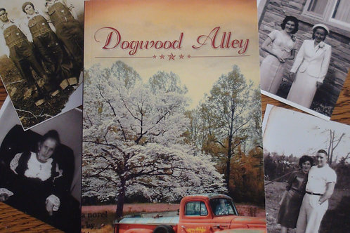 Autographed paperback copy of Dogwood Alley