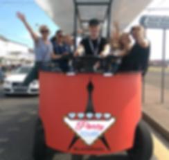 Beerbus Beer Bus Pedibus Pedi bus pedalbus blackpool