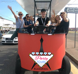 Pedal Party Tours Blackpool