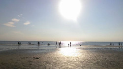 Another beautiful Evening on the beach at Blackpool