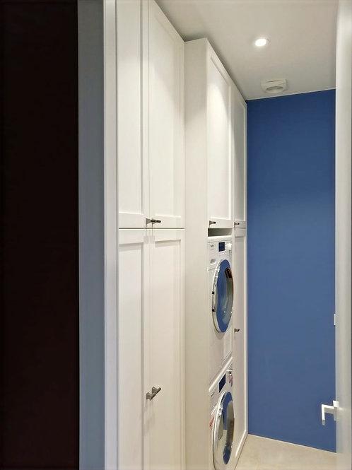 Пеналы в ванную комнату ЖК Переулок Бульварный
