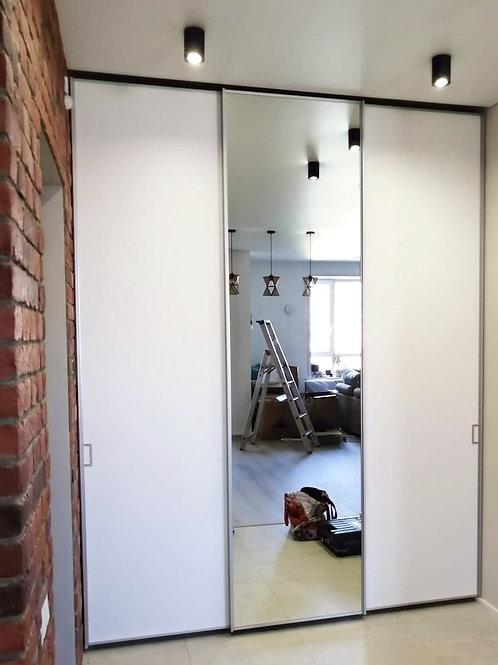 шкаф с системой Cinetto (верхняя направляющая)
