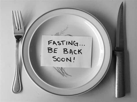 Intermittent Fasting, Plate, Diet, Nutrition