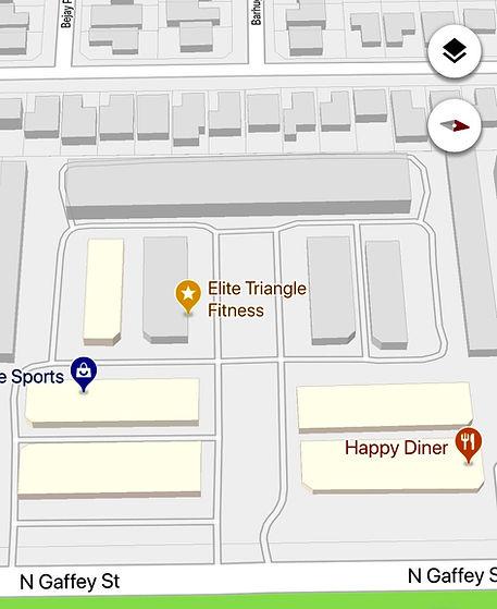Google Maps Gym  Location