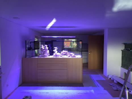 Holzmöbel Aquarium