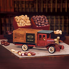 Wood Vehicle Gifts with Business Name and Logo for Corporate Gifting During the Year