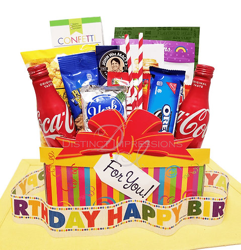 Snacks For Your Birthday! Gift Box