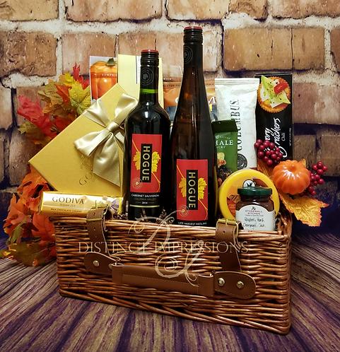 Fireside Picnic for Fall Gift Basket