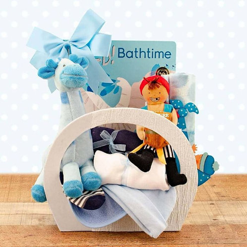 Welcome Home Baby Boy Starter Gift