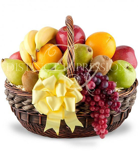 Classic Fresh Fruit Gift Basket