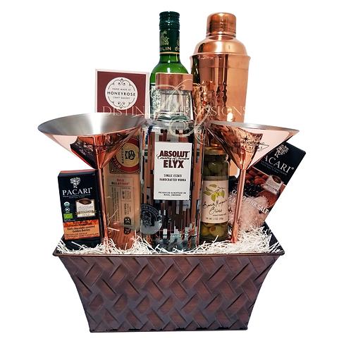 Copper Las Vegas Martini Gift