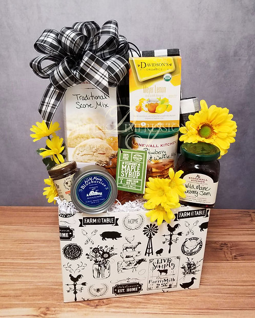 The Farmhouse Country Breakfast Gift Box