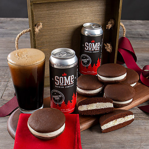 Stout Beer and Whoopie Pie Gift Crate