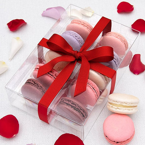Valentines Day Gourmet French Macarons