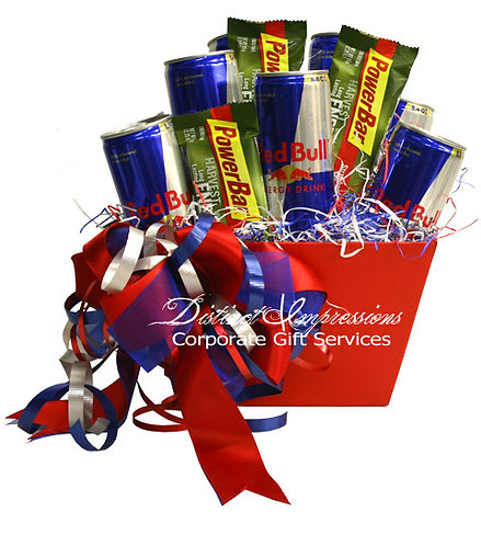 Up All Night with Red Bull - Gift Basket