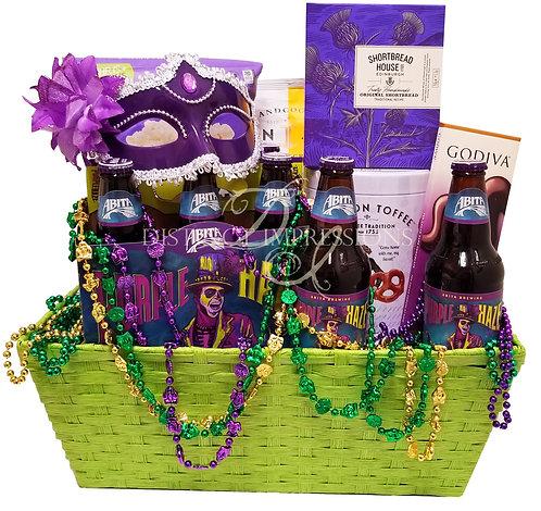 Mardi Gras - Fat Tuesday Gift Basket
