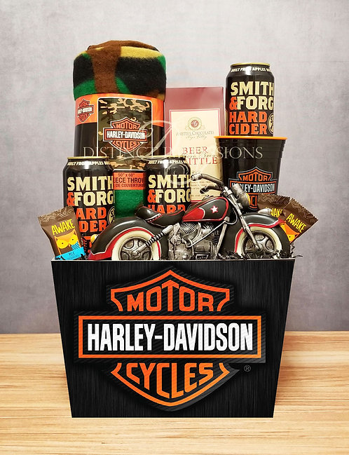 Hitting the Highways - Harley Davidson Gift Box