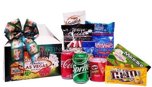 Welcome to Las Vegas Gable Box of Snacks