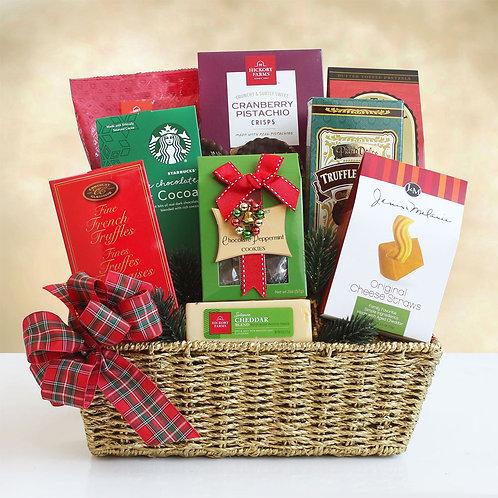 Happy Christmas Gourmet Gift Basket