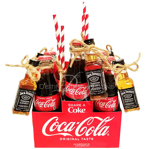 Jack Daniels and Coca Cola 6 Pack Gift