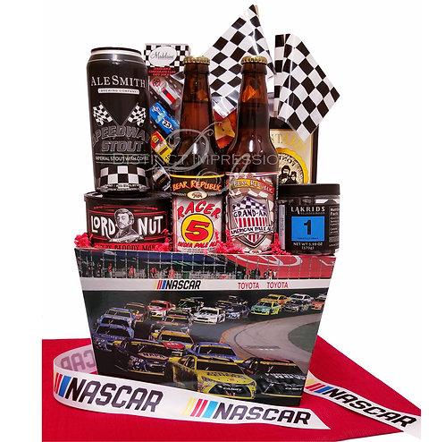 Las Vegas NASCAR Racing Team - Beer Gift Basket