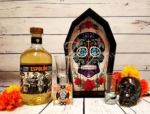 Day of the Dead Tequila Gift Tray