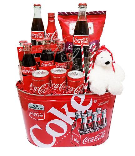 Coca-Cola Christmas Gift Tin