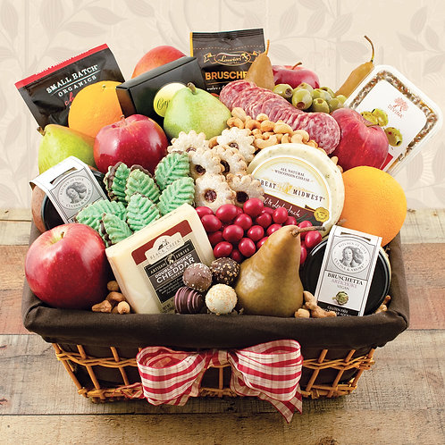 Park Avenue Deluxe Fruit Gift Basket