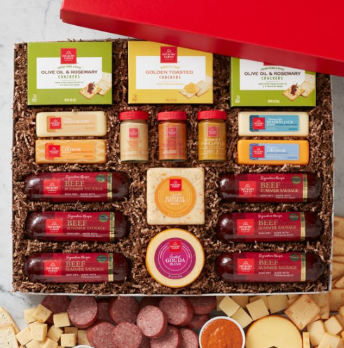 Hickory Farms Ultimate Sausage and Cheese Gift