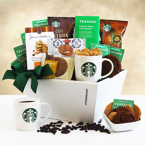 Holiday is the Woods Starbucks Gift