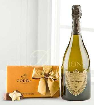 Dom Perignon & Godiva® Truffles Gift