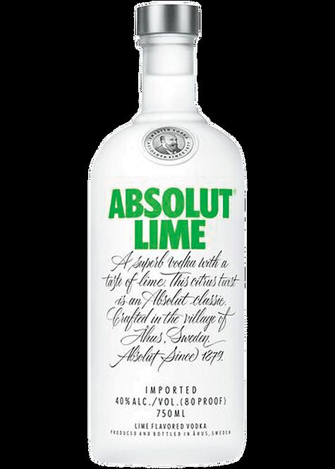 Absolut Flavored Vodka - Lime