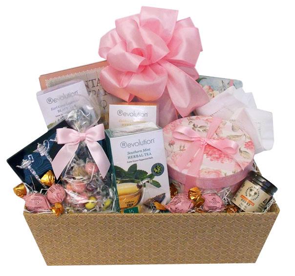 Custom Tea and Cookies Gift